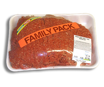 Kosher S.S. Ground Beef Family Pack
